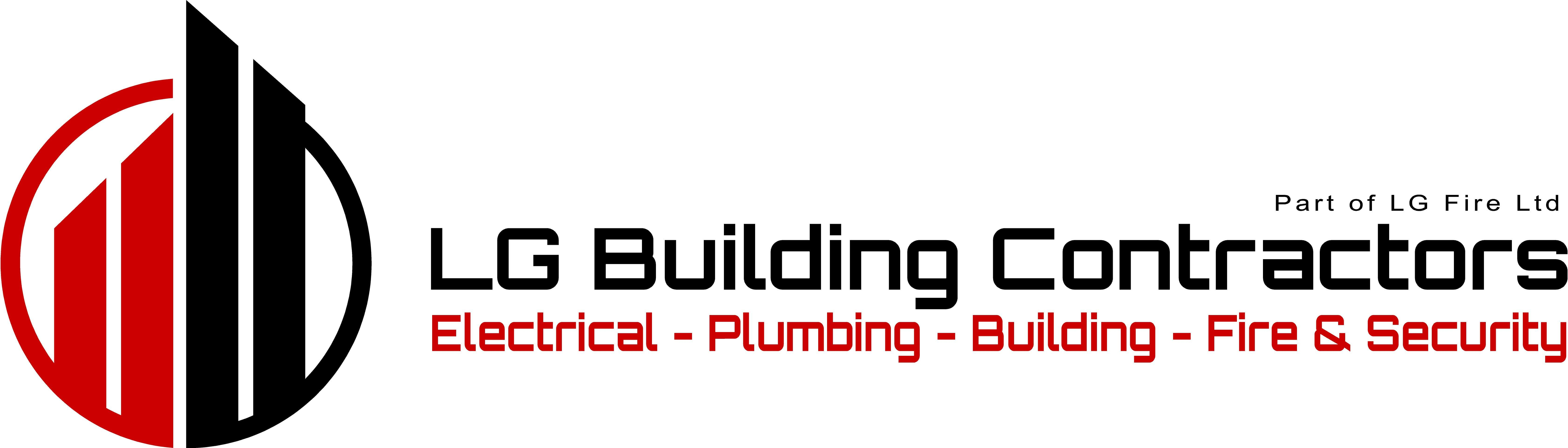 LG Building Contractors Logo to left of text JPG-min